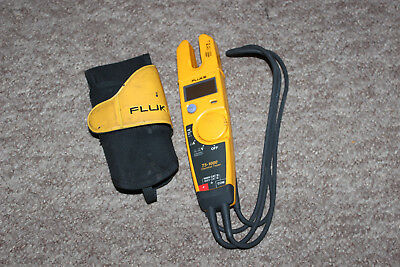 FLUKE T5-1000 Voltage Current Electrical Tester & holster
