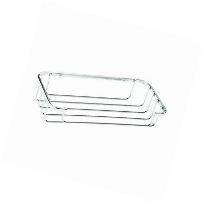 Croydex Chrome Plated Rust Free Mild Steel Cosmetic Basket, Silver
