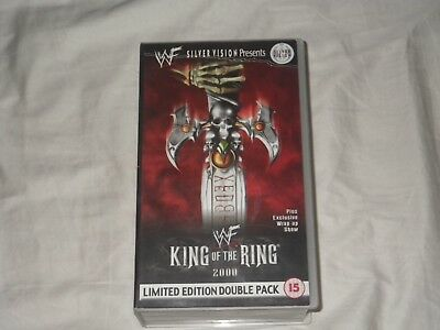 WWE vintage VHS double tape year 2000, includes Capital Canage from London