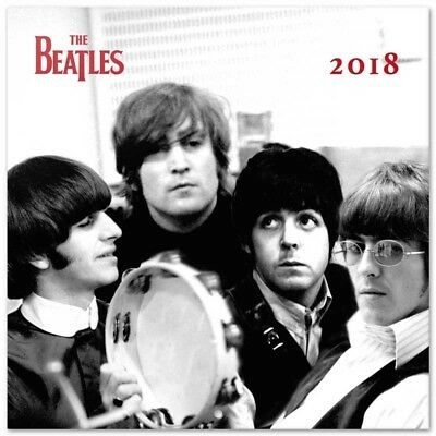 The Beatles (Free Poster ) Official Calendar 2018