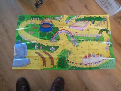 My Little Pony Play Mat & Accessories Lot - 1980s