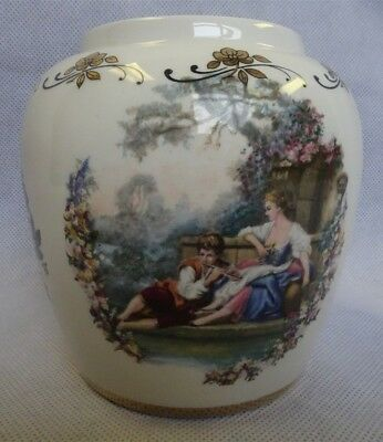 Vintage Lord Nelson Ware Pottery Hand-Crafted Small Vase