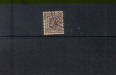 Iceland 1907 16a brown used