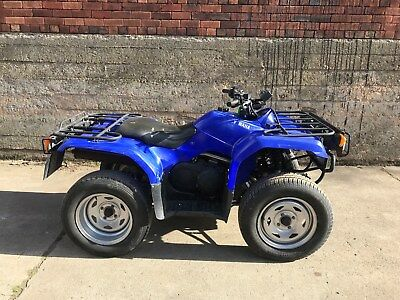 Ex military yamaha grizzly 450 irs quad spares or repair for Yamaha grizzly 400