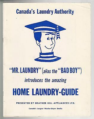 BAD BOY Laundry Guide Toronto Mr Laundry Heather Hill appliances Mel Lastman 50s