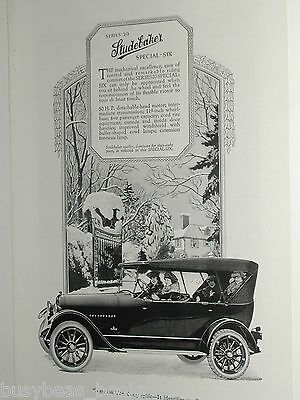 1920 Studebaker advertisement page, Series 20 Special-Six, women driver