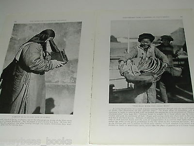1921 magazine article, world travel with a camera, people places
