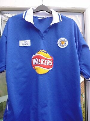Vintage Leicester City Home Shirt..Walkers..XL (42-44 chest)