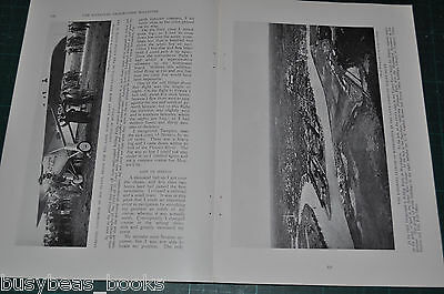 1928 magazine article by Col. LINDBERGH, South America tour, Spirit of St Louis