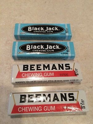 Black Jack & Beemans Chewing Gum L@@K !!!
