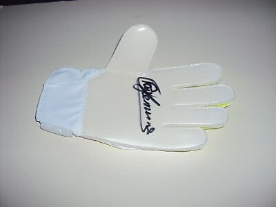 Hand Signed Goalkeeper Glove Ray Clemence Liverpool Tottenham England Authentic