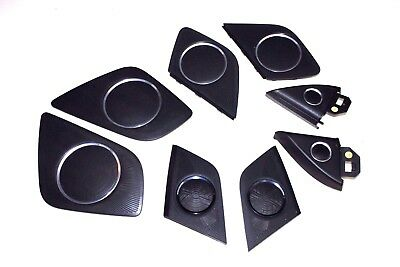 Audi A5 Coupe Genuine Set Of Speaker Cover Black Bang & Olufsen 8T0035420A