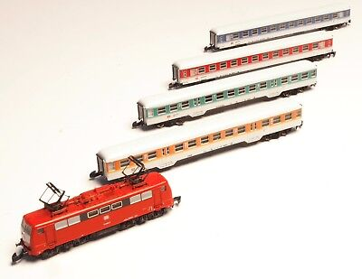 8111 Marklin Z-scale Demonstration Train in DB's New Colors