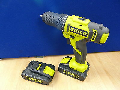 GUILD 18V Li-on Drill Driver CDT218G with 2 Batteries (4604440)