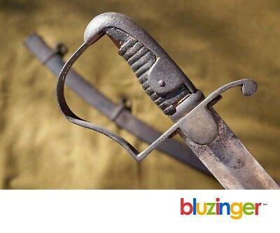 "A 19th Century German ""P"" Guard Heavy Cavalry Saber Sword"