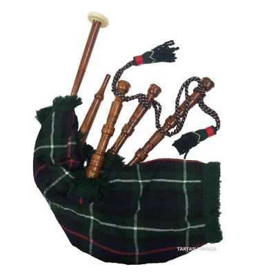 New Boxed Mckenzie Junior Playable Bagpipes Scotlands Instrument Ideal Xmas Gift