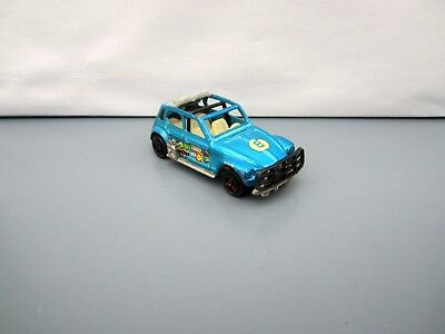 Majorette 231 Citroen Dyane Raid - Metallic Blue - Race No.8