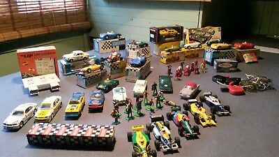 Job Lot Scalextric Triang Airfix Slot cars figures  Aston Martin Zephyr Rapier