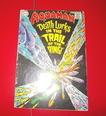 Aquaman #41 The Trail Of The Ring!  Silver Age 1968