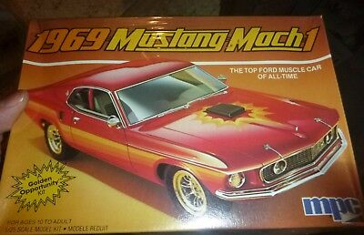 MPC 1969 Ford Mustang Mach 1 I 1/25 Model Car Mountain FS