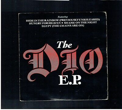 Dio The Dio E.p. Hide In The Rainbow/hungry For Heaven/egypt/shame On The Night