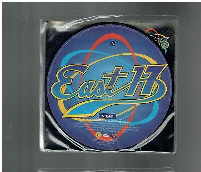 East 17 Steam Picture Disc 45 1995