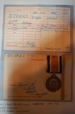 ww1 Medal Cheshire Yeomanry / Royal Highlanders 2Lieut