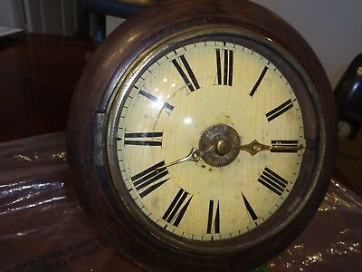 circa 1890s Antique Postmans Wall clock for restoration or spares
