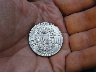 Mexico 50 Pesos 1982  Nickel