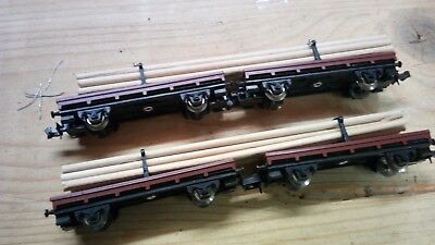 4 wagons avec chargement LIMA comme neuf  ech N 1/160