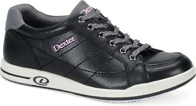 Dexter Deanna Women's Black/Grey/Pink Bowling Shoes Size 8 Right Handed