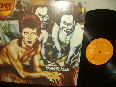David Bowie   Diamond Dogs   Gatefold sleeve      EX