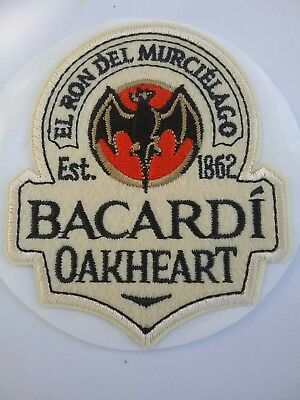 Bacardi Oakheart Sticker Patch
