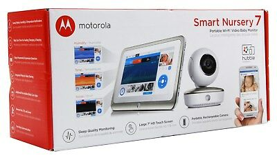 Motorola Smart Nursery 7 Dual Mode Baby Monitor with Camera and Touch Screen