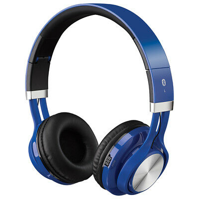 iLive Wireless Bluetooth Headphones - Blue IAHB56BU