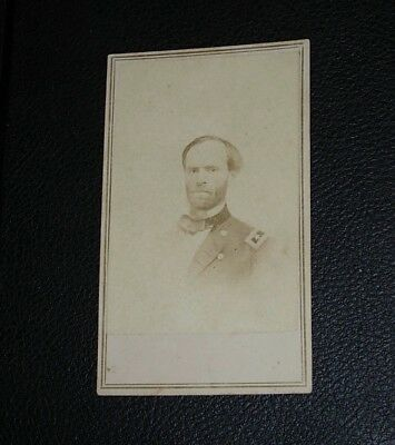 Original Albumen Cdv Civil War Photo General William Tecumseh Sherman