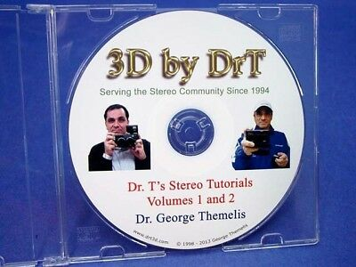 15 YEARS of DrT's Stereo Photography Tutorials - Wealth of 3D information on CD