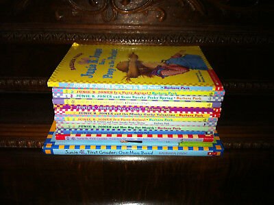 Lot of 11 Junie B. Jones series by Barbara Park, Scholastic