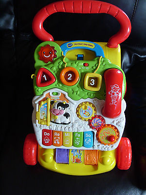 VTech Baby First Steps Baby Walker MULTI COLOUR
