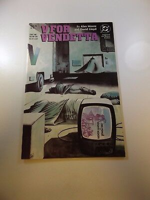 V For Vendetta #4 VF condition Free shipping on orders over $100.00!