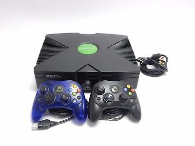 Microsoft Xbox with 2 Controllers