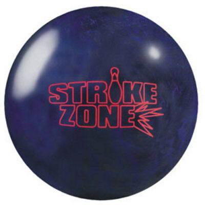 New 15lb Brunswick Strike Zone Blue/Black Bowling Ball xyz