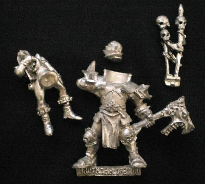Rare OOP Limited Edition PR7 - HROTHGAR DAEMONAXE, CHAMPION OF CHAOS - Games Day