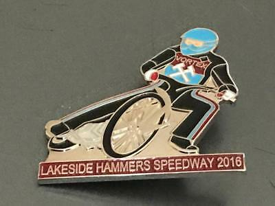 Lakeside Hammers---2016---Speedway Badge---Silver Metal