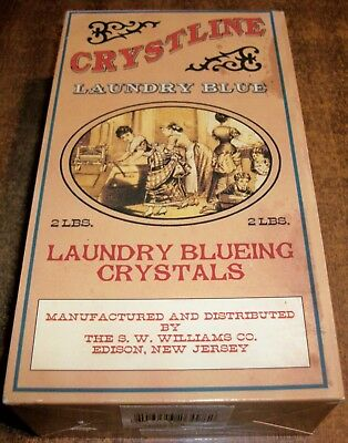 Soap Box CRYSTLINE LAUNDRY BLUE 2 LBS. LAUNDRY BLUEING CRYSTALS
