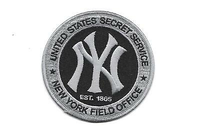 U.s.secret Service- New York Field Office-Grey/black Version