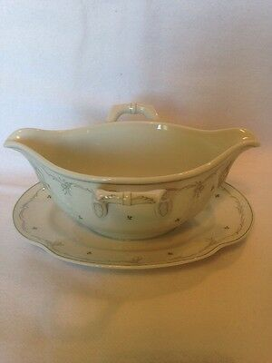 Vintage Kaiser Dubary Trianon Double Handled Sauce / Gravy Boat. Superb !