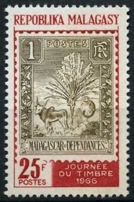Malagasy 1966 SG#116 Stamp Day MNH #D58850
