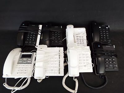 Job Lot Approx. 30 BT Doro & Meridian Corded Office Phones Black & White - S79