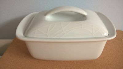 Jamie Oliver Queens White Butter Buddy Dish Vgc